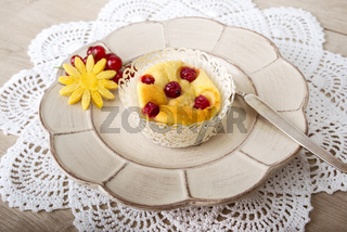Fruchtiger Quark Muffin