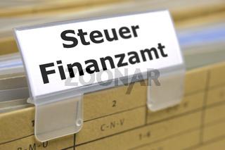 Steuerformulare für Finanzamt