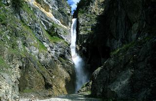 Wasserfall; Edelbach; Lechtal; Elmen; Oesterreich