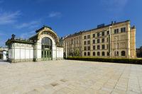 Otto Wagner Pavillon am Karlsplatz - Wien