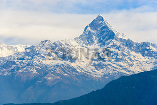 The Machhapuchhre in the Annapurna region