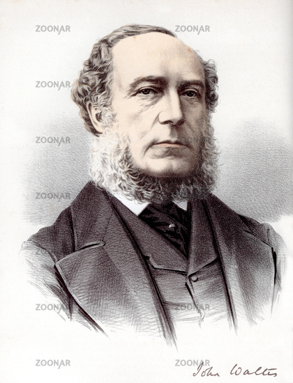 portrait of <b>John Walter</b>, 1818 - 1894, a British newspaper publisher and ... - 10_1b70b1e1f7cf97b0427be3ce37379b04