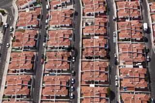 Luftaufnahme Strassen von Abades, Teneriffa