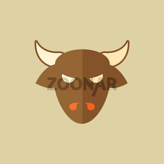 Beef. Food Flat Icon