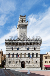 Town hall Montepulciano