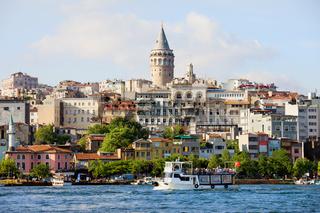 Beyoglu District in Istanbul