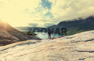 Hike in Norway