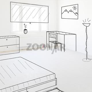new empty apartment