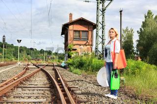 train to beach