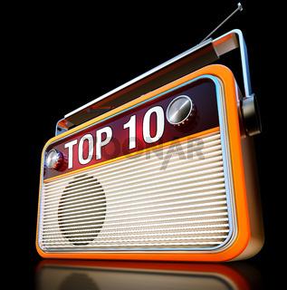 top 10 radio