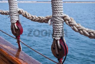 Klassische Segelyacht