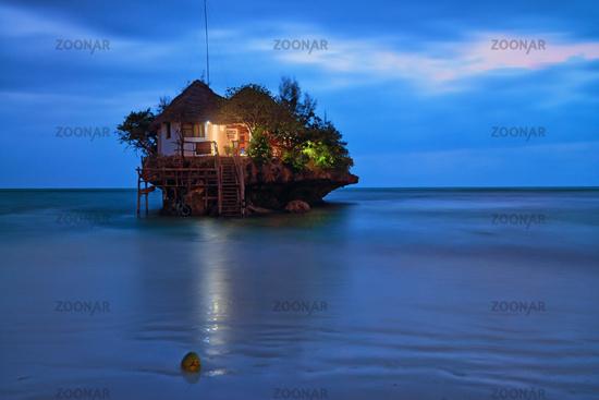 Rock romantic restaurant
