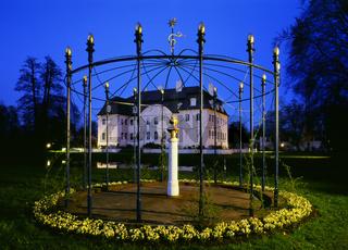 Bueste der Henriette Sonntag vor Branitzer Schloss
