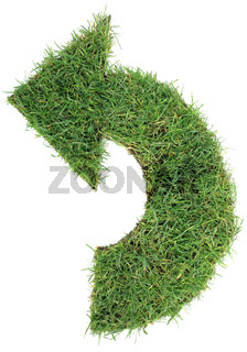 Undo Grass Arrow