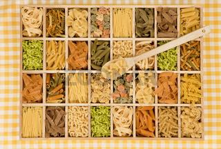 Pasta variation.