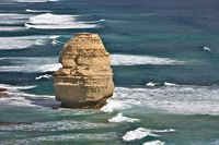 A Single Rock Formation of Twelve Apostles