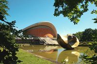 Haus der Kulturen der Welt Berlin Deutschland / House of the cultures of the world Berlin Germany