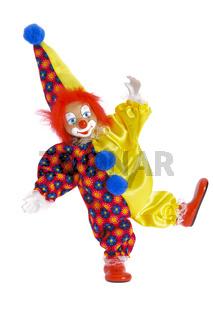Clown at carnival
