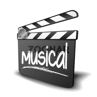 Clapper Board Musical