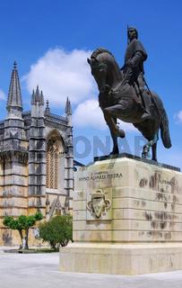 Batalha Reiterstandbild - Batalha equestrian statue 02