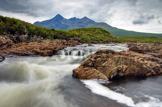 Kleiner Fluss auf der Isle of Skye