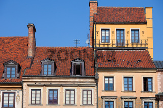 Old Town Houses in Warsaw