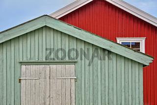 Schwedische Holzhäuser
