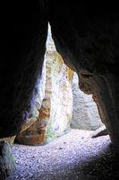 An der Diebeshöhle bei Thürmsdorf