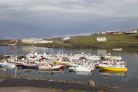 Hafen von Djúpivogur, Island