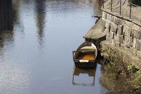 Boot auf der Ilmenau