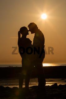 Zwei im Sonnenuntergang 7