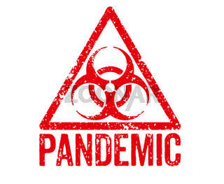 Red Stamp - Pandemic
