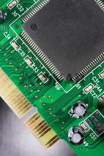 Computer Component Circuit Board Memory Processor Networking Card
