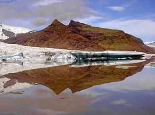 Gletschersee in Island