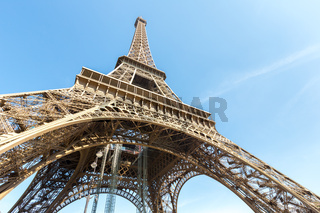 Eiffel Tower Paris summer
