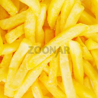 Fried potato background