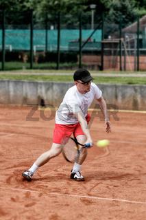 Vorhand Volley