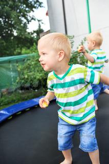 trampoline twins