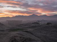 Morgenstimmung im Sonnenaufgang über Mazar-e-Sharif