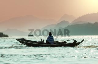 Boat in Laos