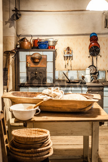 Old Kitchen at a Farm in Austria