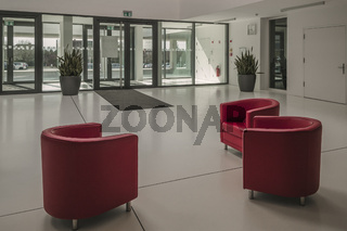 Foyer der Fachhochschule Hof