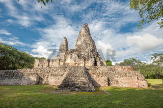 Ruins of Xpujil, Yucatan, Mexico