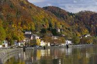 Donau, St. Nikola an der Donau, Struden, Oberösterreich, Österreich