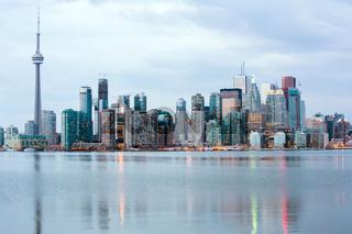Toronto skylline