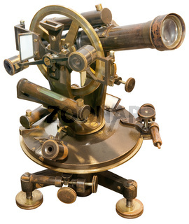 Old  Theodolite Cutout
