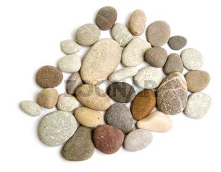 Various sea stone