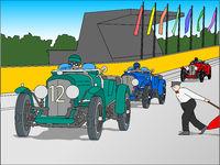 Historisches Autorennen