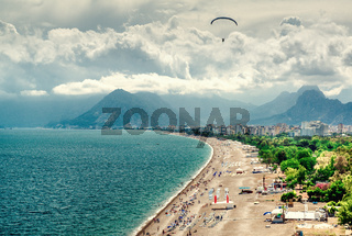 Antalya seaside Turkey