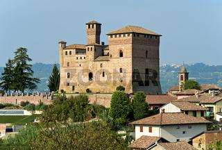 Schloss von Grinzane Cavour, Piemont, Italien